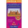 Gizi Map India politikai térkép - Gizimap