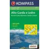 WK 690 - Alto Garda e Ledro turistatérkép - KOMPASS