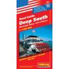 Deep South (a Mississippi-völgy és a Mexikói-öböl) autótérkép - Hallwag No.10