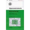 Brennerberge turistatérkép - Alpenvereinskarte 31/3