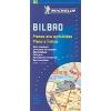 Bilbao térkép - Michelin 9077