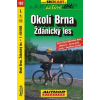 BRNO SURROUNDINGS, ZDANICKY LES - SHOCart kerékpártérkép 167