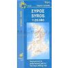 Szirosz térkép - Anavasi