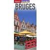 Bruges laminált térkép - Insight