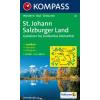 WK 80 - St. Johann/Salzburger Land turistatérkép - KOMPASS