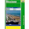 LAC Riccione térkép - LAC