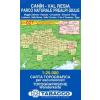 Caněn, Val Resia / Parco Naturale Prealpi Giulie térkép - 027 Tabacco