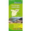 Pireneusok (közép) térkép - Michelin 145