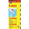 Laosz térkép - Periplus Editions
