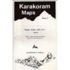 K2, Baltoro, Gasherbrum, Masherbrum & Saltoro Groups (no3.) térkép - West Col