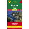 Azori-szigetek autótérkép - f&b AK 9304
