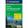 WK 48 - Lienz - Schobergruppe - Nationalpark Hohe Tauern turistatérkép - KOMPASS