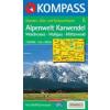 WK 6 - Alpenwelt Karwendel, Walchensee - Wallgau - Mittenwald turistatérkép - KOMPASS