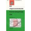 Karwendelgebirge, Ost turistatérkép - Alpenvereinskarte 5/3