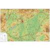 Magyarország domborzata térkép wandi - Stiefel