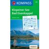WK 065 - Klopeiner See - Bad Eisenkappel turistatérkép - KOMPASS