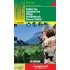 Faaker See-Ossiacher See-Villach-Dreiländereck-Unteres Gailtal turistatérkép - f&b WK 224