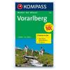 WK 292 - Vorarlberg (2-K-Set m.NF) turistatérkép - KOMPASS