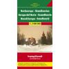 Skandinávia autótérkép - f&b AK 2001