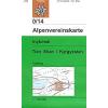 Inylchek / Tien Shan turistatérkép - Alpenvereinskarte 0/14