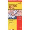 Arezzo / Siena térkép - De Agostini
