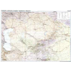 Kazahsztán autótérkép falitérkép - GiziMap