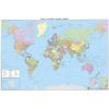 A Föld politikai térképe falitérkép - f&b