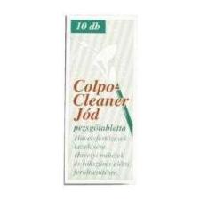 Colpo cleaner pezsgőtabletta jódos 10 db gyógyhatású készítmény