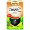 Yogi bio zöld tea gyömbérrel, citrommal  - 17 filter/doboz