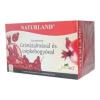 Naturland gyümölcstea gránátalma-csipkebogyó tea - 20 filter/doboz