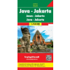 Jáva - Jakarta autótérkép - f&b AK 210