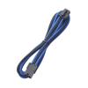 Bitfenix 6 tűs PCIe hosszabbító 45cm fek./kék/fek.
