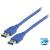 USB 3.0 hosszabbító kábel USB A-A APA/APA
