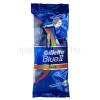 Gillette Blue II PLUS eldobható borotva 5 db