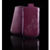 CELLECT Sony Xperia E méretű slim virágos bőr tok,Lila