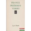 France Preseren versei (Lyra Mundi)