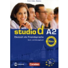 Hermann Funk, Christina Kuhn, Silke Demme Studio d A2 - Kurs- und Übungsbuch (with CD)