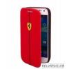 Ferrari Galaxy S4 Flip cover tok, Piros