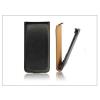 Haffner Slim Flip bőrtok - Huawei Ascend W2 - fekete