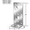Vormann Derékszögű lemez 70914 100x60x60 mm/50 db