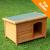 Sunnypet (USD) Woody lapostetős kutyaház - méret L: H 116 x Sz 79 x M 82 cm