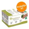 Applaws Cat pástétom, 7 x 100 g próbacsomag - I. csomag: 3 x csirkehúsos, 2 x bárányhúsos, 2 x lazacos