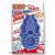 KONG Zoom Groom masszázskefe - kék