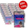 Zooplus Feline Porta 21 tasakos, gazdaságos csomagolásban 20 x 100 g - Tonhalas garnélarákkal