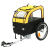 Zooplus Mini Bee biciklis utánfutó kutyáknak - H 105 x Sz 58 x M 73 cm / 25 kg-ig