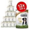 Yarrah Bio falatok óriáscsomag 12 x 820 g - csirkefalatok csalánnal és paradicsommal mártásban