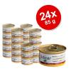 Schesir Natural gazdaságos csomagolásban 24 x 85 g - Csirkehúsos rizzsel
