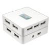 LogiLink USB2.0 7 portos hub, külső táppal