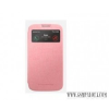 VIVA Galaxy S4 hívás mutató flip cover tok,Pink