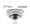 Hikvision DS-2CD7164-E IP mini Dome kamera, kültéri, 1.3 megapixeles, 90 fok látószög (fehér) megfigyelő kamera